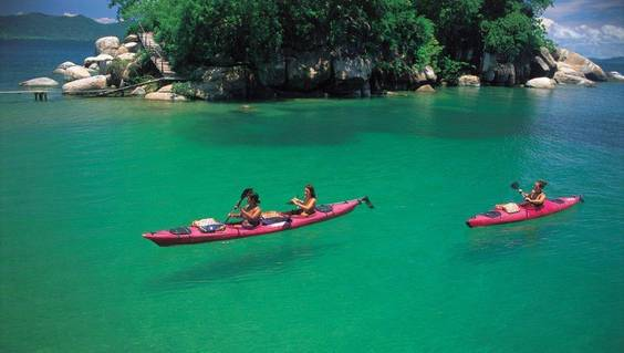 Kayak-Tour auf dem Malawi-See © Ministry of Tourism, Wildlife and Culture, Malawi